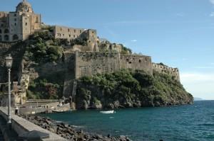 Veduta del Castello d'Ischia 2