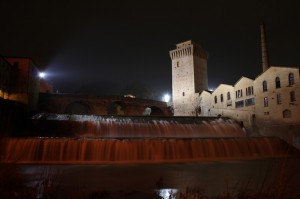Torre Medioevale e Ponte Romano…..By night…..