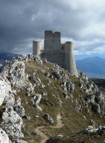 Calascio - Non dev'essere stato facile costruirlo....