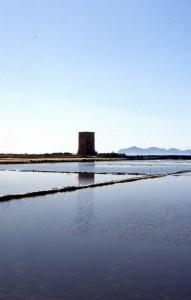 Torre di avvistamento nelle Saline