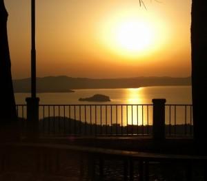 Il Lago di Bolsena visto da Montefiascone