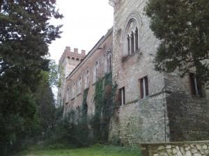 Retro del Castello di San Girolamo.