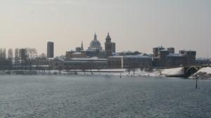 Neve sulla città
