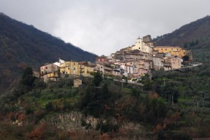 Panorama del borgo di Ciorlano