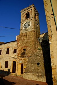 Torre civica e castello