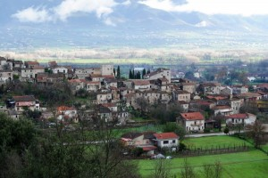 Il borgo medioevale di Baia
