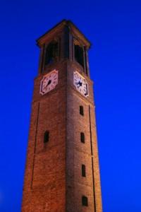 Ancora intatta la torre civica.