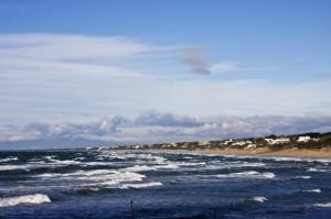 La spiaggia di Sabaudia