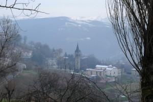 Da Sassuolo verso Prignano, un panorama di strada
