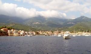 Marciana Marina, panorama dal mare