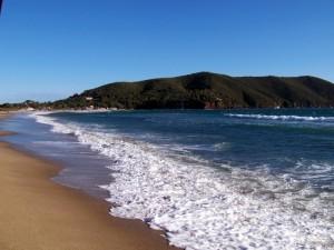 Lacona, panorama e la spiaggia