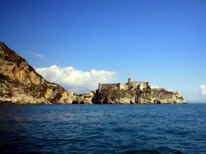 Castello di Gaeta visto dal Mare