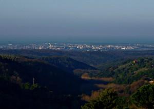 Panorama dalle colline