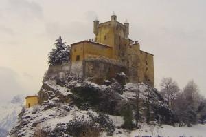 Il fiabesco castello di Saint Pierre
