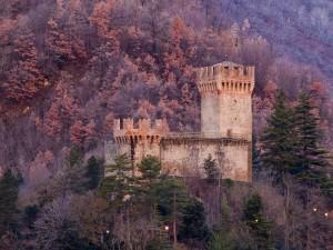 L'alba del castello