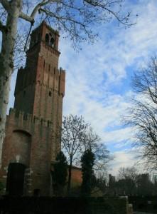 Porta cittadina e Castello