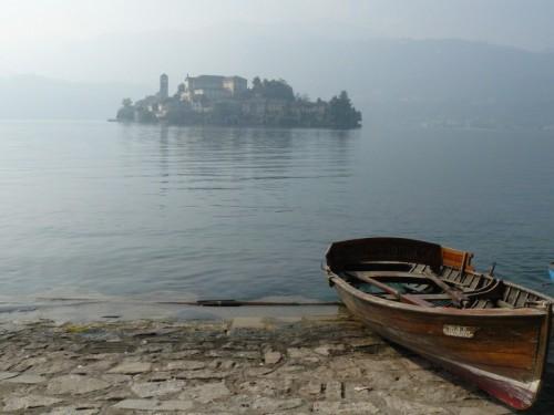 Orta San Giulio - l'isola in un giorno d'autunno