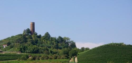 Montaldo Roero - La torre e le colline