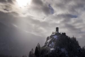 fortezza fra le nuvole, castello di Graines