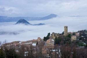 Panorama dal Castello in una giornata (molto) invernale