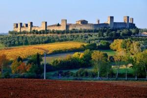 La cinta muraria di Monteriggioni