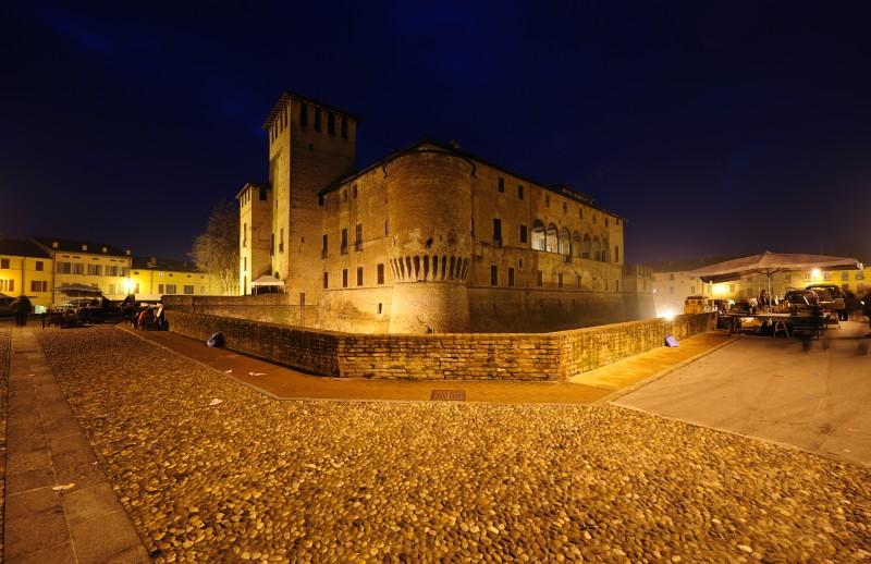 ''Il mercato a Fontanellato (Rocca)'' - Fontanellato