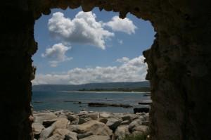 Briatico, vista sul mare dalla Torre d'avvistamento saracena