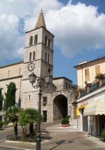 l'ingresso per il centro storico