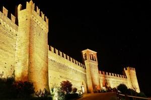 Un castello sotto le stelle