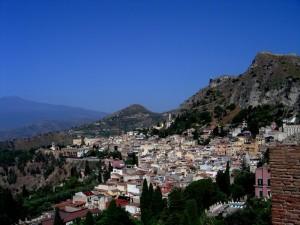 Panoramica di Taormina