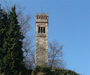Torre del parco di Villa Cagnola