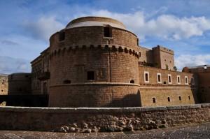 Due lati del castello