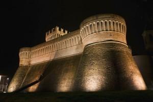 La Rocca di Urbisaglia di notte