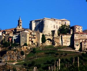 il castello di Caggiano