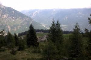 panorama dall'alpe Deccia
