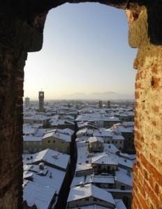 Fotografando sotto zero e in alta quota a Lucca!