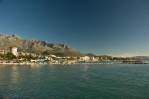 Veduta dal porto