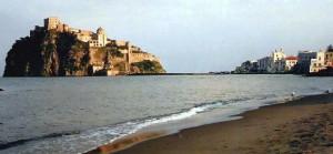 Il castello e la spiaggia