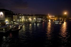 Venezia che si sposta