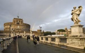 L'angelo, il castello e l'arcobaleno