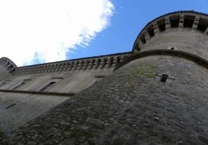 Il castello visto da qui!
