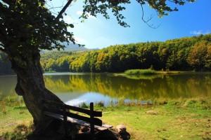 Il lago Pranda