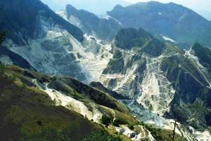 il marmo di carrara da campocecina