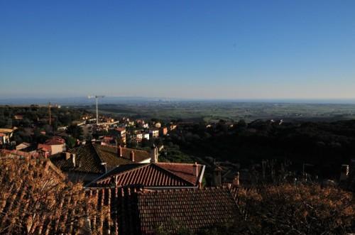 Capalbio - Veduta sulle centrali