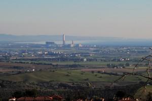 più da vicino…. sulle Centrali elettriche viste da Capalbio