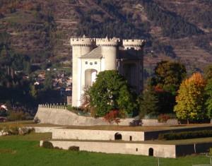 Autunno al castello d'Aymavilles