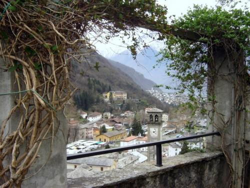 Chiavenna - Osservata dall'alto