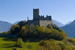 castello di Cly in autunno