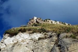 Resti del castello di Calanna