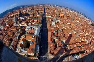 Bologna vista dall'alto